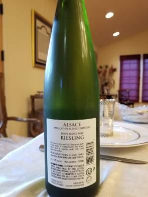 2016 Koenig Riesling, Alsace - bl