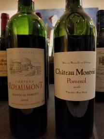 2016 Chateau Royaumont, Lalande de Pomerol, 2016 Chateau Montviel, Pomerol