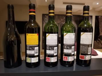 2016 Ramon Cardova Rioja, Old Vines, Limited Edition, 2016 Ramon Cardova Rioja, 2014 Ramon Cardova Rioja, Crianza, 2012 Ramon Cardova Rioja, Crianza, 2002a Ramon Cardova Rioja, Crianza -