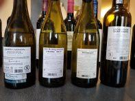 2017 Ramon Cardova Albarino, 2017 Les Marronniers, Chablis, 2017 Bourgogne Les Truffieres, Chardonnay, 2017 Chateau Lacaussade Saint-Martin - bl