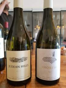2017 Tzora Judean Hills White and 2017 Tzora Shoresh White