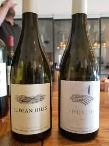 2017 Tzora Judean Hills White and 2017 Tzora Shoresh White