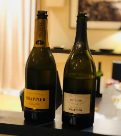 Drappier Cote D'Or and Drappier Brut Nature