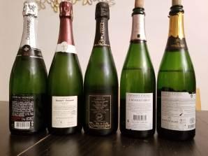Louis De Vignezac, Brut, Grand Cru, Bonet Ponson Non Dosage, Premier Cru, Champagne Langlet, Extra Brut, Koenig Brut, Cremant D'Alsace, Gersberger, Cremant D'Alsace - bl