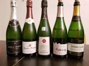 Louis De Vignezac, Brut, Grand Cru, Bonet Ponson Non Dosage, Premier Cru, Champagne Langlet, Extra Brut, Koenig Brut, Cremant D'Alsace, Gersberger, Cremant D'Alsace
