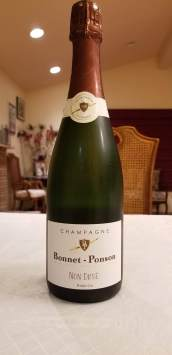 bonnet ponson non dose champagne