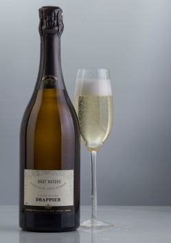 nv drappier champagne brut nature glam