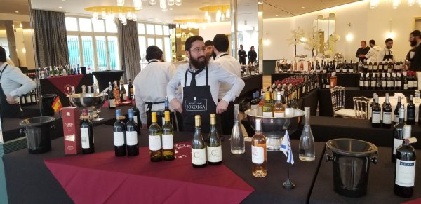 Domaine du Castel wines at Bokobsa Sieva Tasting Feb 2019