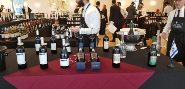 Flam wines wines at Bokobsa Sieva Tasting Feb 2019
