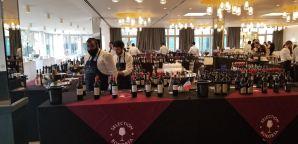 French wine table 1 at Bokobsa Sieva Tasting Feb 2019
