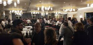 Full House at the Bokobsa Sieva Tasting Feb 2019