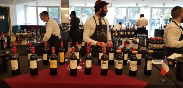 Saint-Estephe and Saint Emilion wines at Bokobsa Sieva Tasting Feb 2019