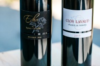 2014 Echo de Rose Camille and 2015 Clos Lavaud