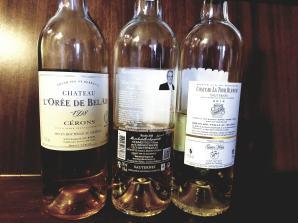 1998 L'Oree de Bel-Air, Cerons, 2016 Clos Haut-Peyraguey, Sauternes, Premier Grand Cru Classe, 2014 Chateau La Tour Blanche Sauternes, 1er Cru classé - bl