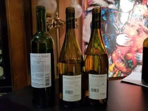 2014 La Chene de Margot (AKA Chateau Bellerive Dubois) Blanc, Blaye Côtes de Bordeaux, 2017 Joseph Mellot Pouilly Fume, 2018 Joseph Mellot Sancerre - bl