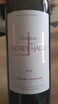 2016 Chateau Luchey-Halde,Pessac-Leognan