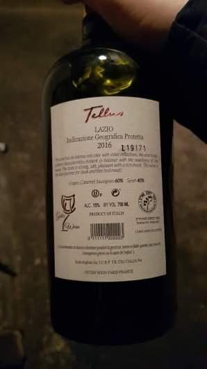 2016 Falesco Tellus, Lazio - bl