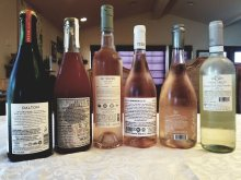 2019 Dalton Pet Nat, 2019 Jezreel Valley Winery Natural, Pet Nat Rose, 2019 Bat Shlomo Rose, 2019 Tura Rose, 2019 Contessa Annalisa Rose, Veneto IGT, 2019 Contessa Annalisa Pinot Grigio, Delle Venezie, D.O.C. bl