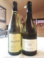 2019 Dalton Pinot Gris, 2019 Goose Bay Pinot Grigio