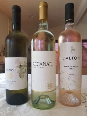 2019 Recanati Sauvignon Blanc, 2019 Recanati Yasmin, White, 2019 Dalton Rose, Alma Coral
