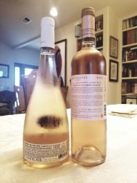 2019 Teperberg Rose, Essence, 2019 Five Stones Rose, D vs G - bl