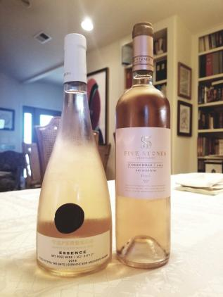 2019 Teperberg Rose, Essence, 2019 Five Stones Rose, D vs G